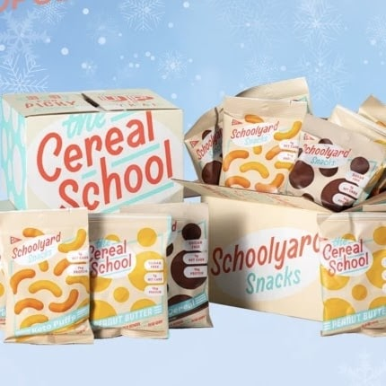 Schoolyard Snacks Cheddar Cheese Puffs + Cocoa Cereal Review