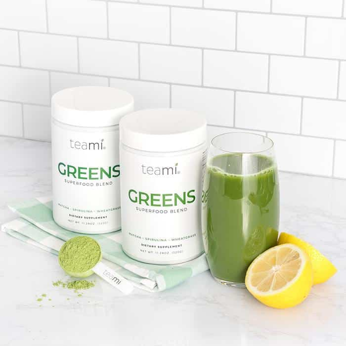Teami Blends Greens Superfood Powder Review