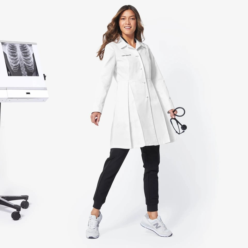 FIGS Women's Buttoned Up Lab Coat Review