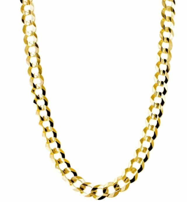 Mens Solid Cuban Link 10K Gold Review