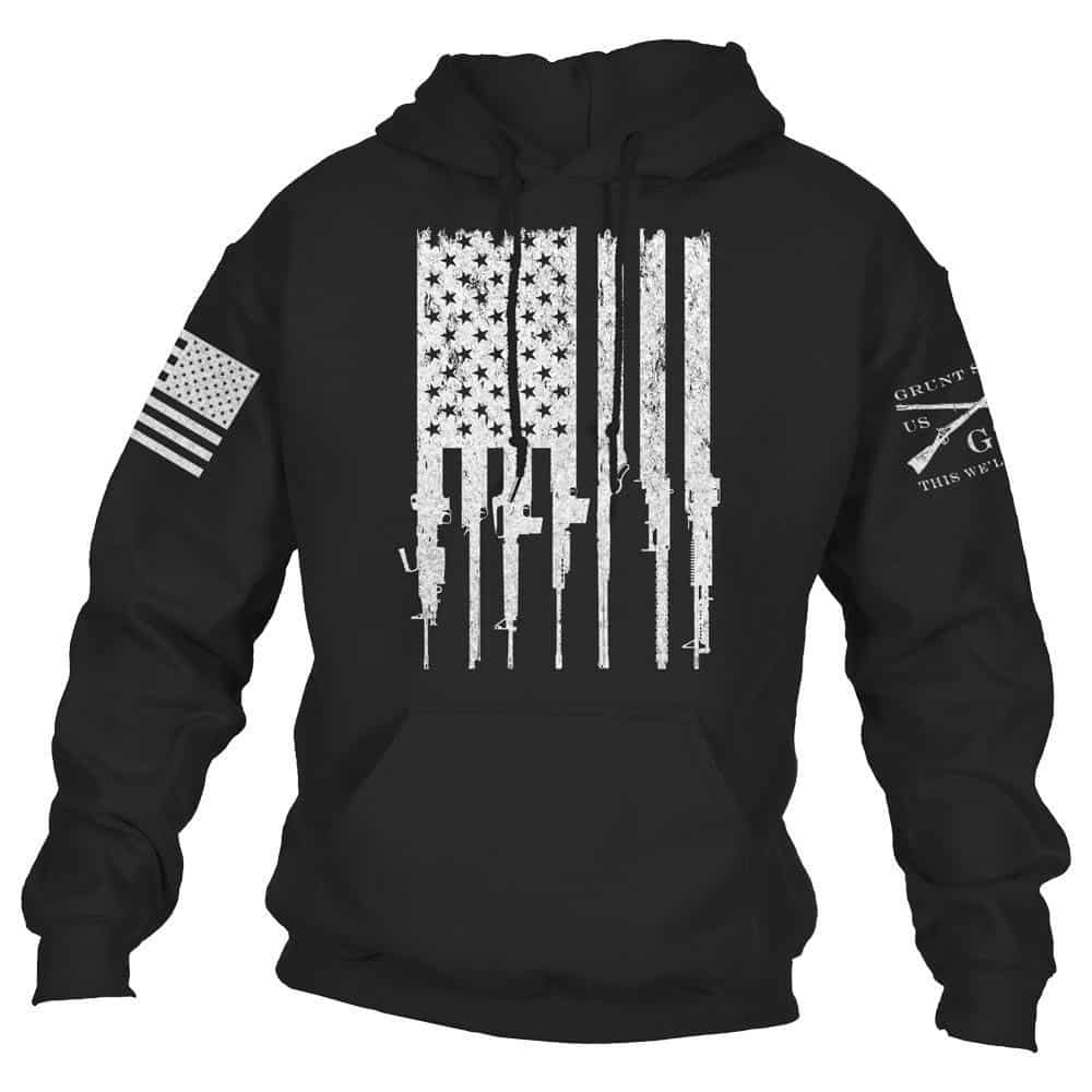 Rifle Flag Hoodie Review
