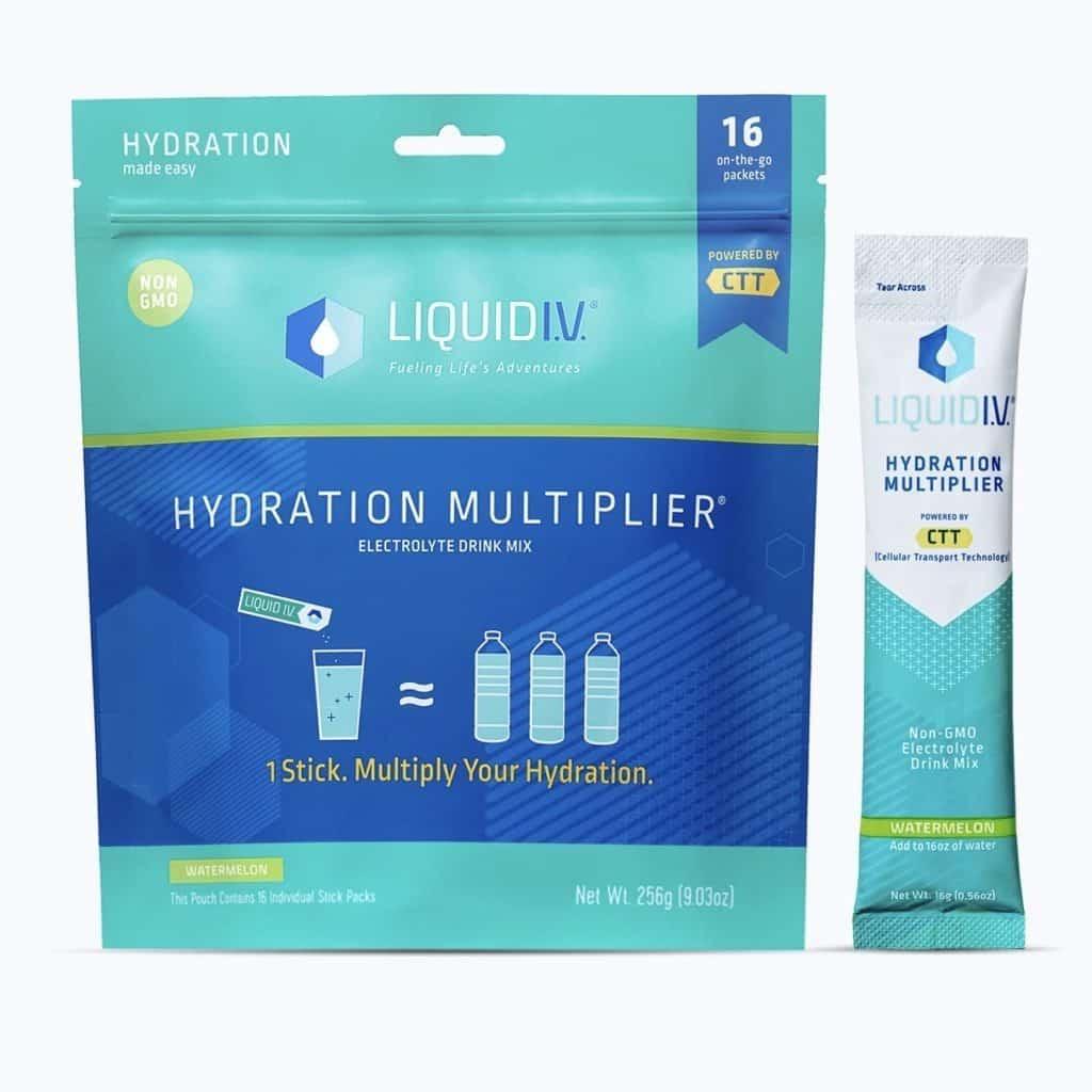 Liquid IV Watermelon Hydration Multiplier Review