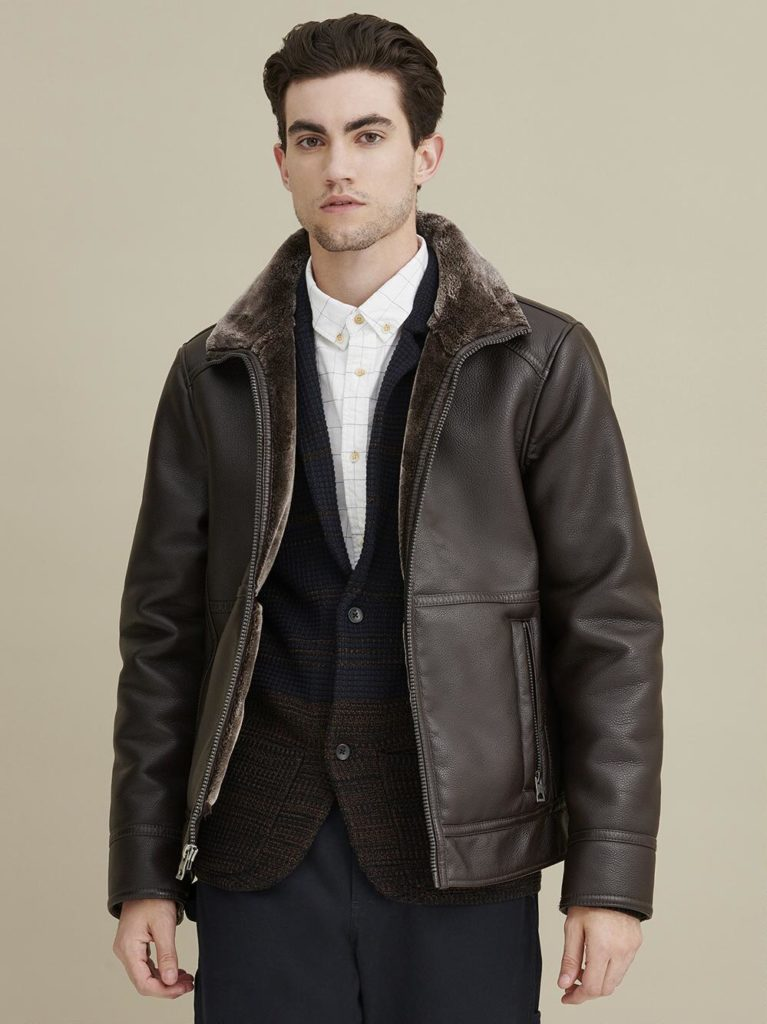 Wilsons Leather Pebble Faux-Leather Jacket Review