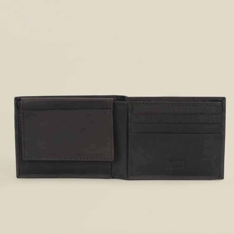 Wilsons Leather Cashmere Passcase Black Wallet Review