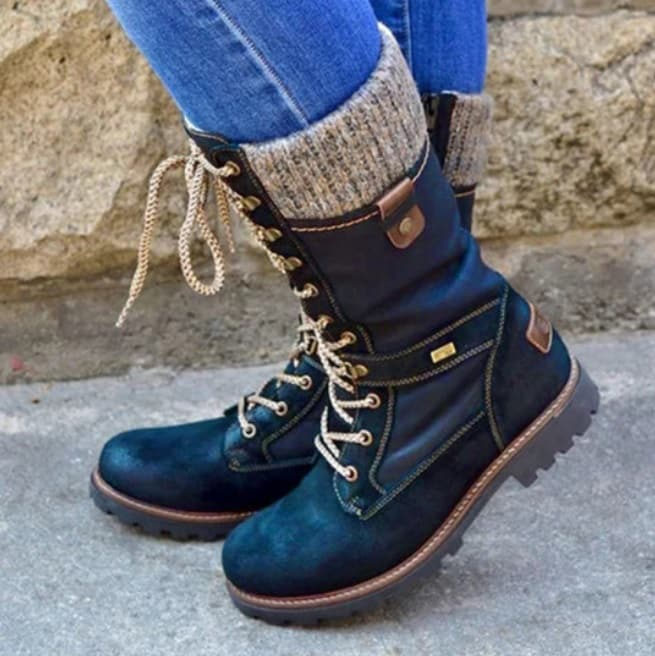 BerryLook Plain Round Toe Boots Review
