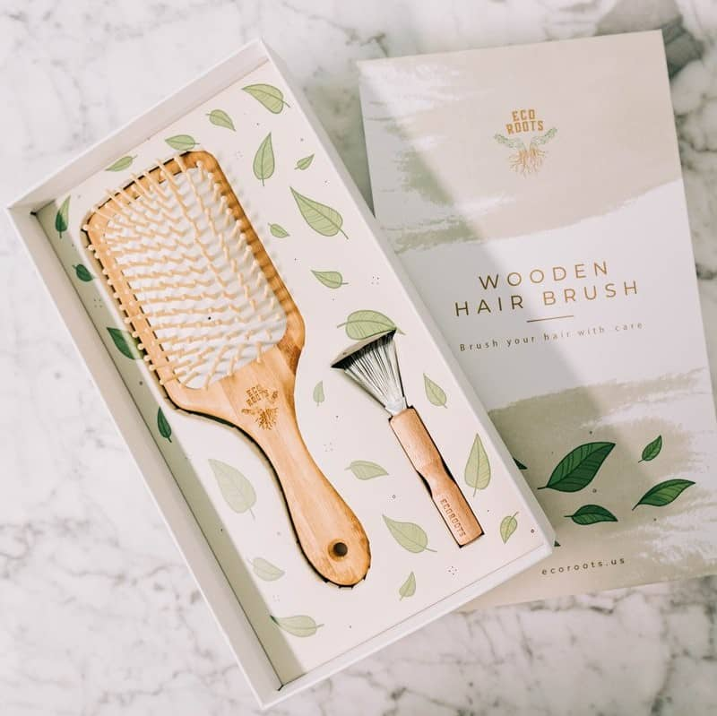 EcoRoots Wooden Hair Brush Review