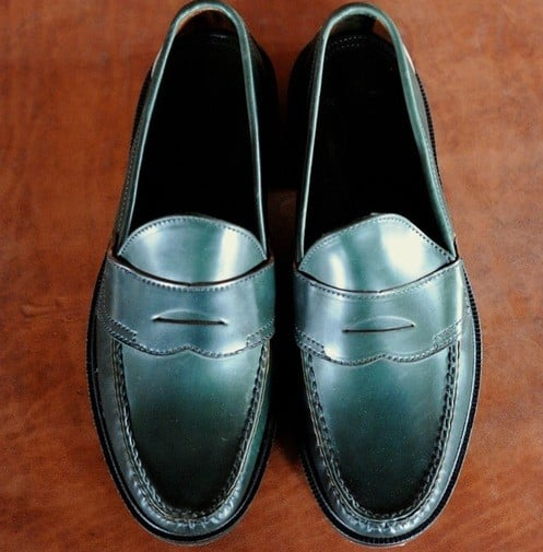Meermin Loafers - Green Shell Cordovan Review