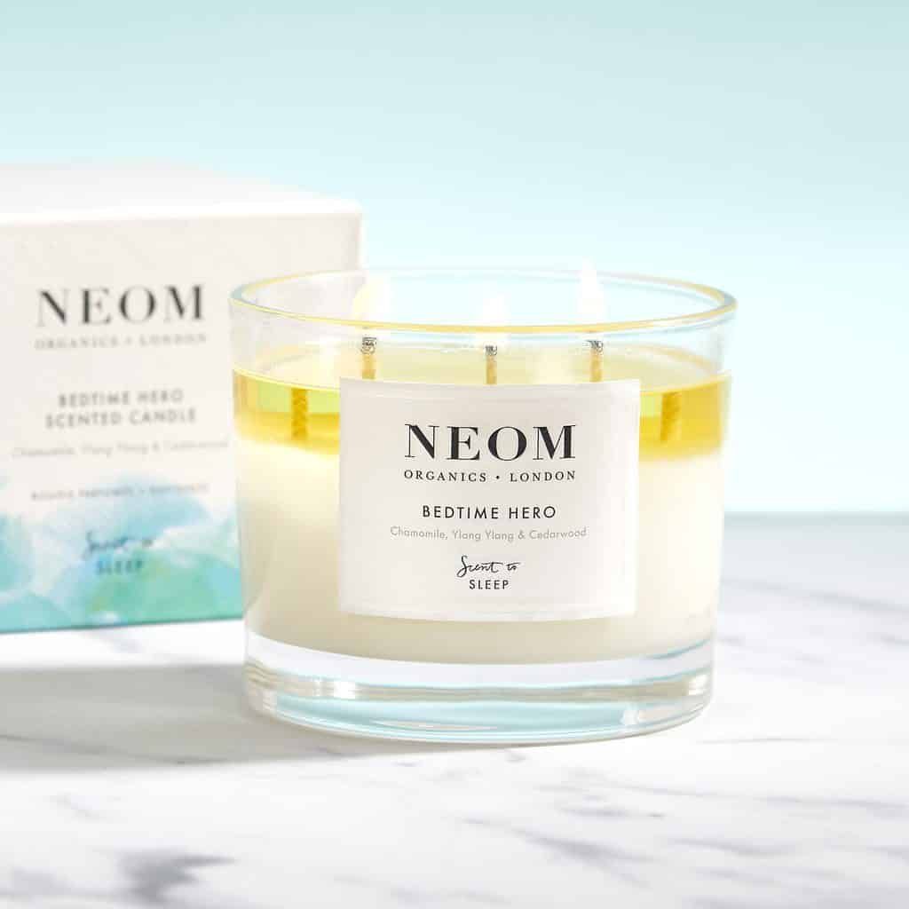 NEOM Bedtime Hero Scented Candle (3 Wick) Review