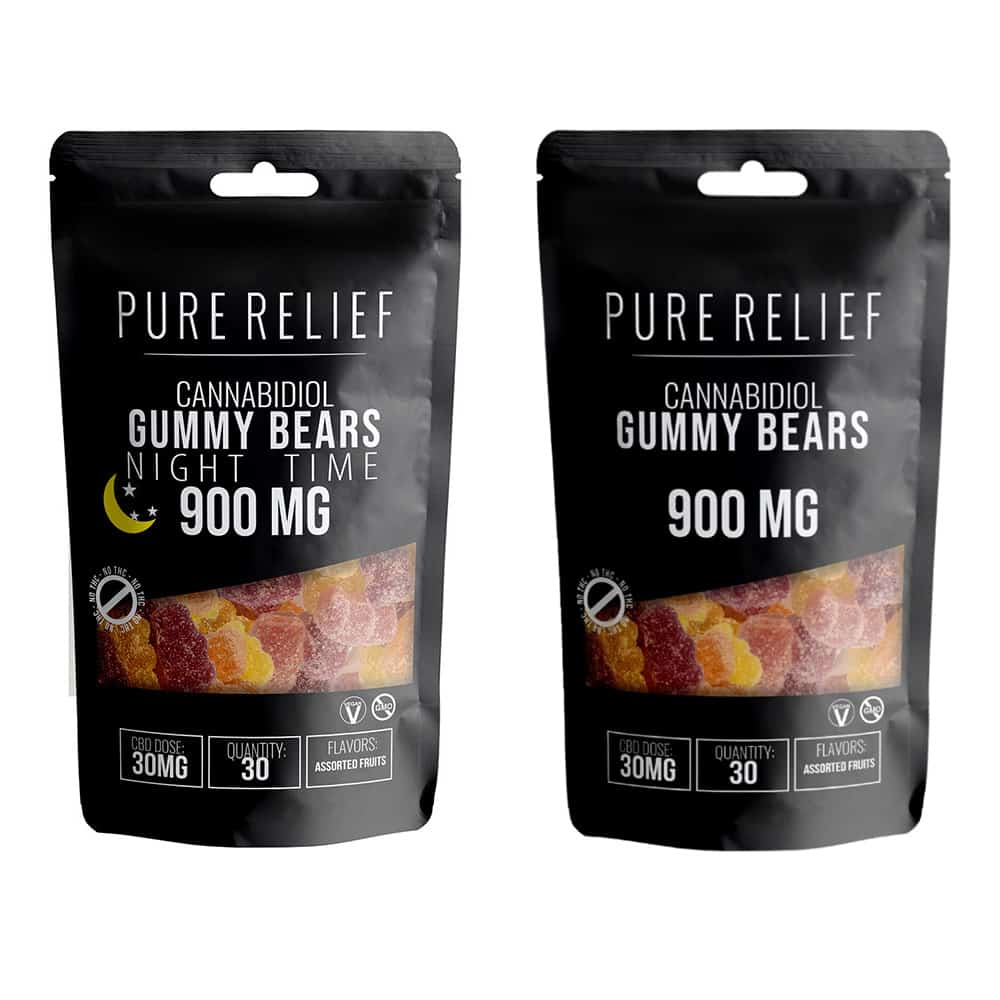 Pure Relief Day & Night Gummies Bundle Review