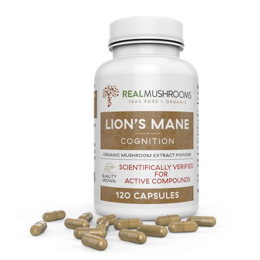 Real Mushrooms Organic Lions Mane Extract Capsules Review