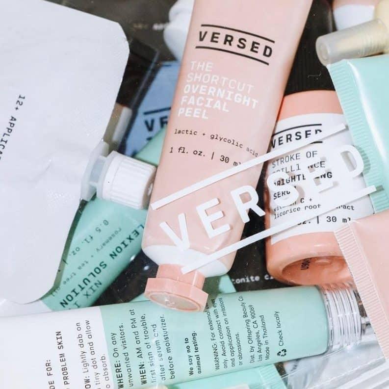 Versed Skin Skincare Review