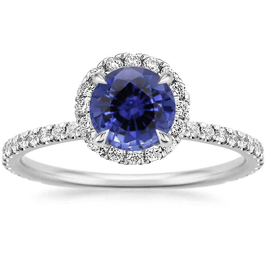 Brilliant Earth Sapphire Waverly Diamond Ring Review