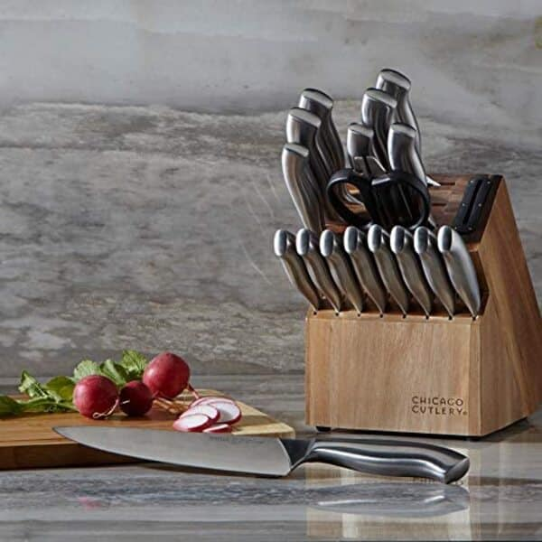 Chicago Cutlery Insignia Steel 18-piece Guided Grip Block Set Review