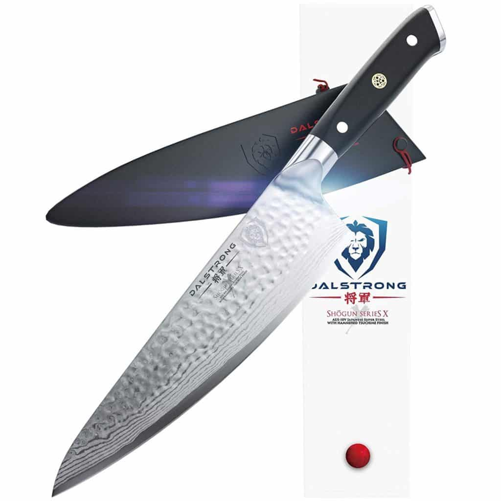 """Dalstrong Shogun Series X 8"""" Chef Knife Review"""