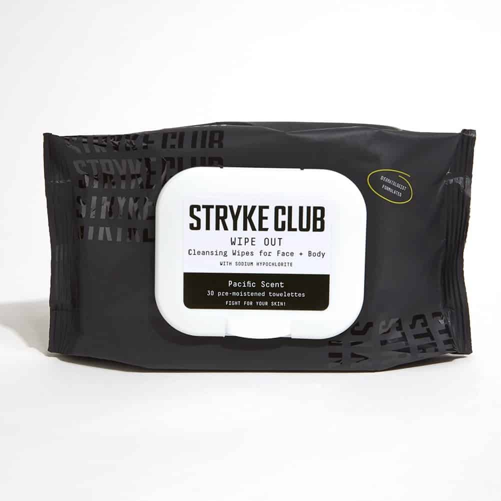 Stryke Club Wipe Out Cleansing Wipes Review