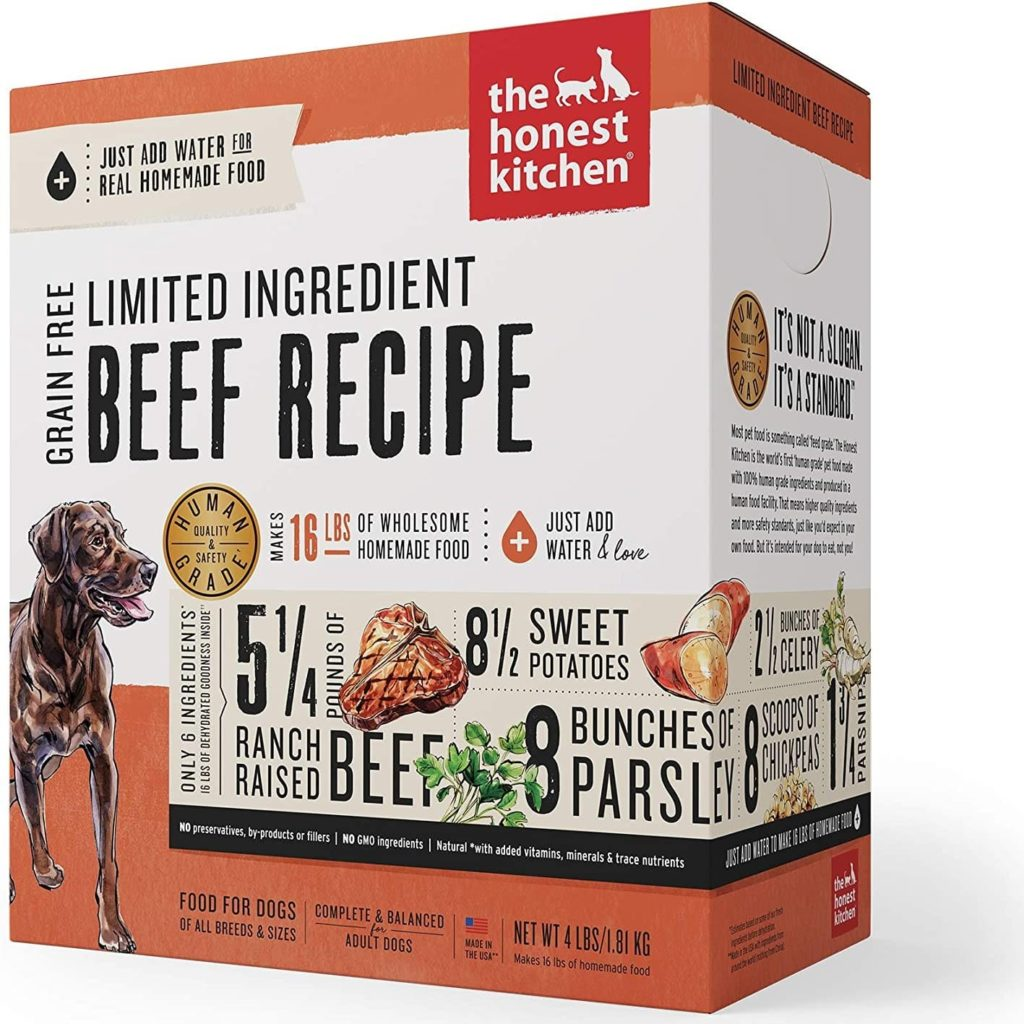 The Honest Kitchen Dehydrated - Grain-Free Beef Recipe Review