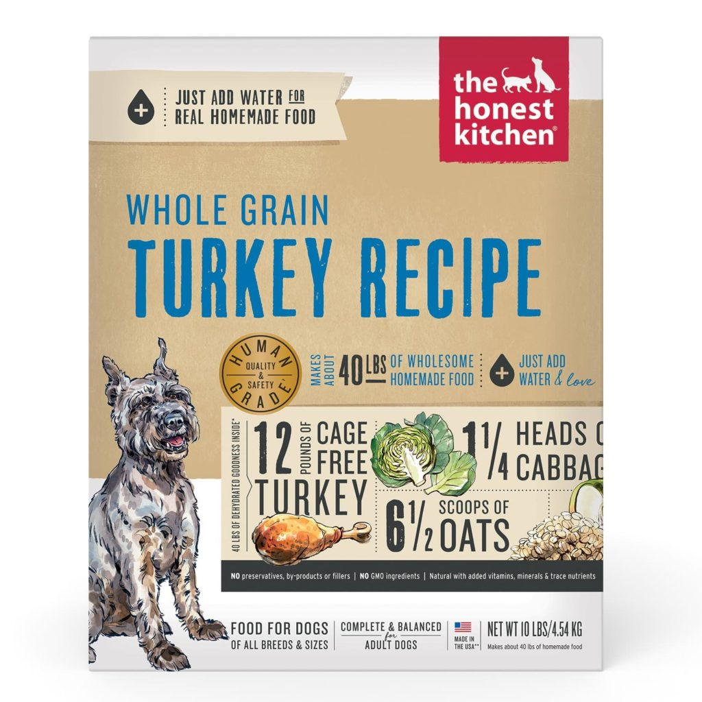 The Honest Kitchen Dehydrated - Whole Grain Turkey Recipe Review