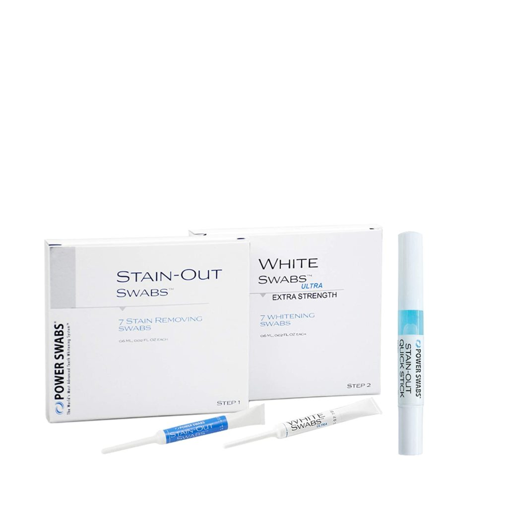Power Swabs Intensive Whitening Introductory Kit Review