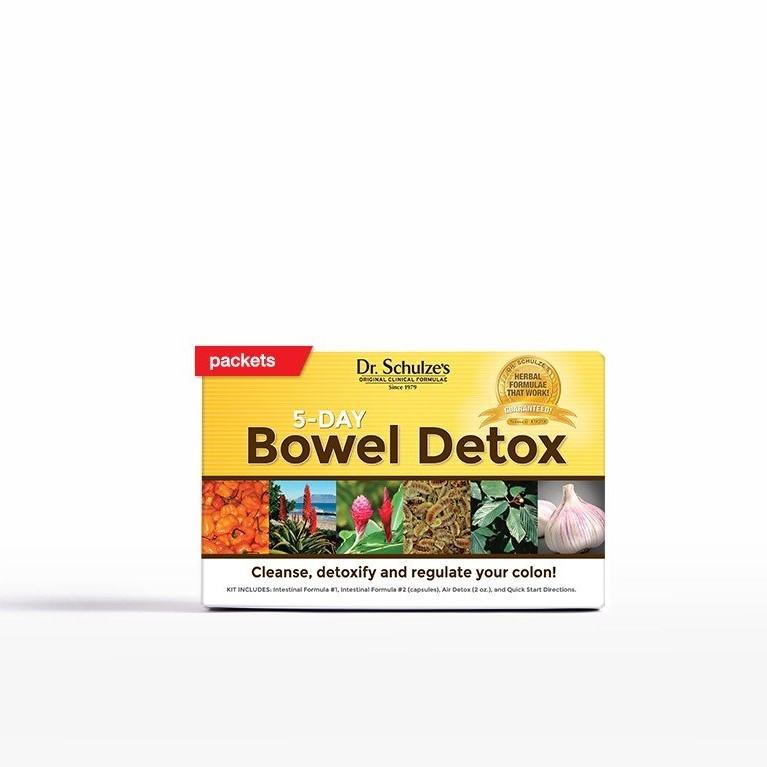 Dr. Schulze 5 Day Bowel Detox Review