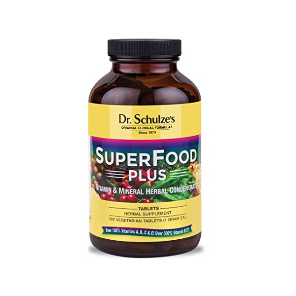 Dr. Schulze Superfood Plus Review