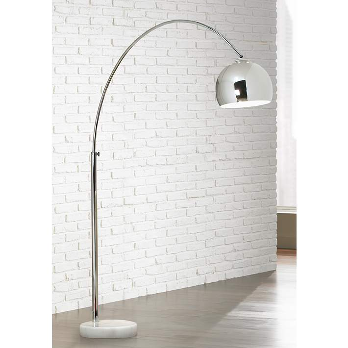 Lamps Plus George Kovacs Polished Chrome Arc Floor Lamp Review