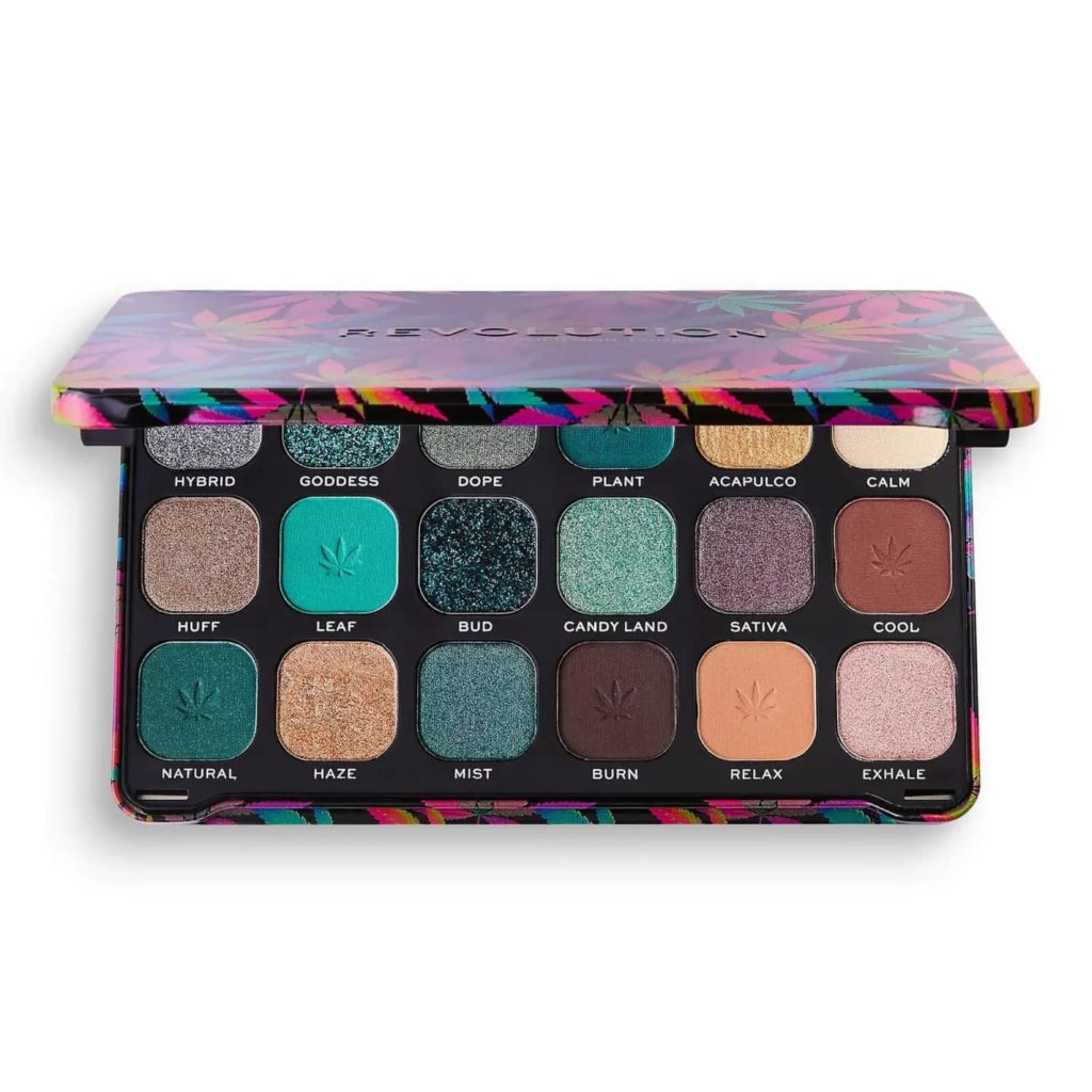 Revolution Beauty Forever Flawless Eye Shadow Palette Review