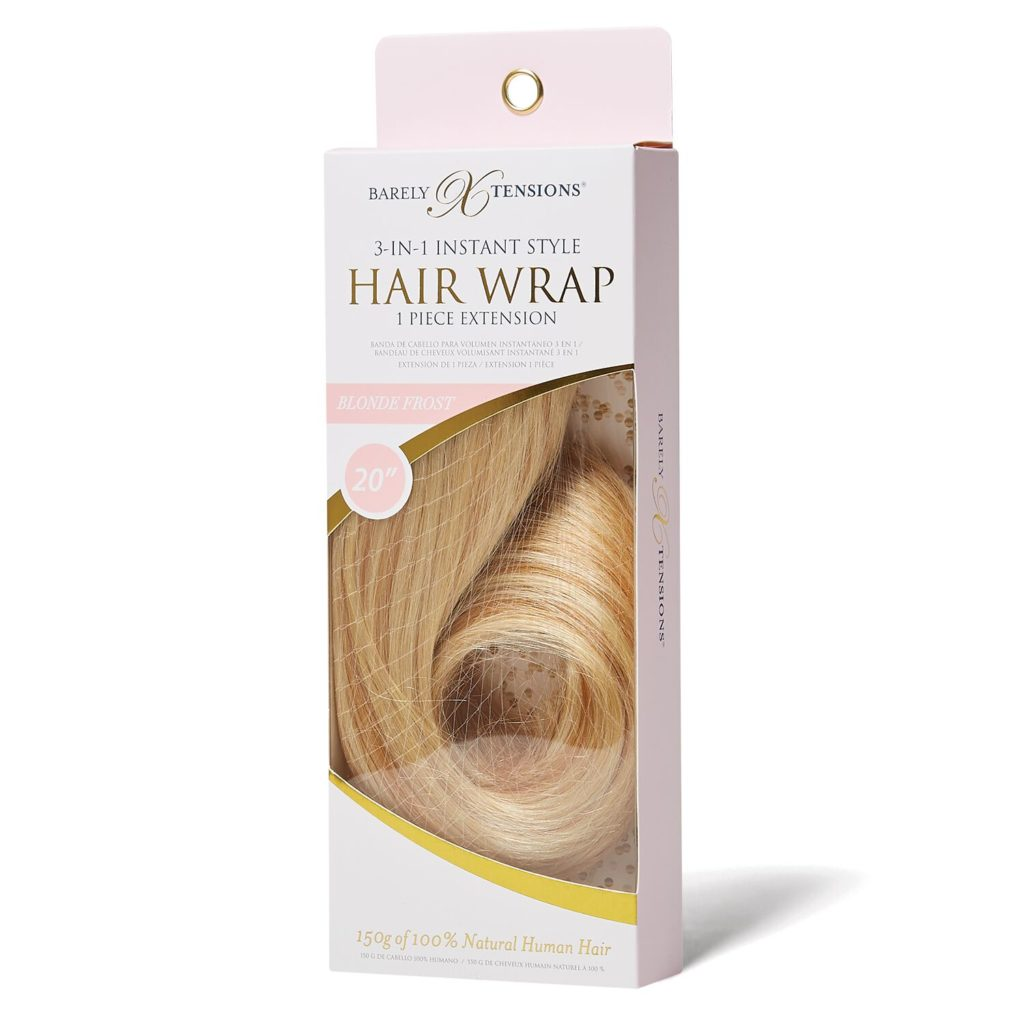 Sally Beauty 3-in-1 Hair Wrap Blonde Frost Review