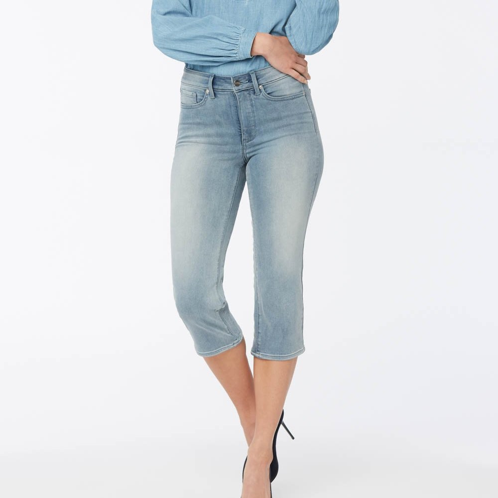 NYDJ ThighShaper Straight Crop Jeans Review