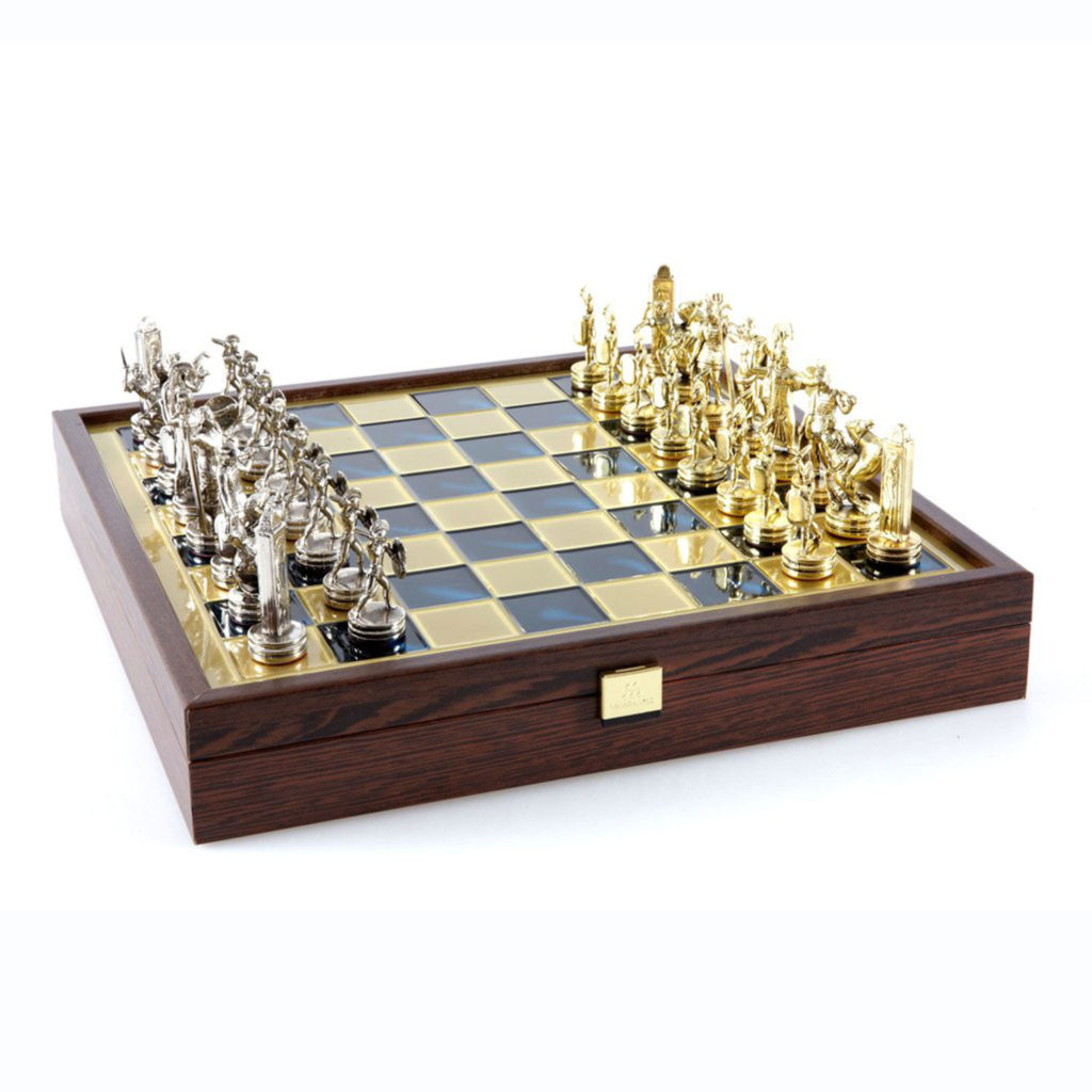 Touch of Modern Athenian Hoplites Chess Set Review