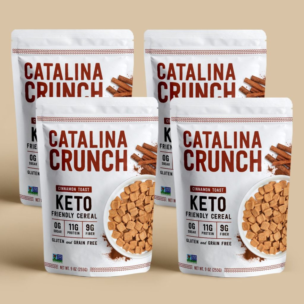 Catalina Crunch Cinnamon Toast Cereal Keto Review