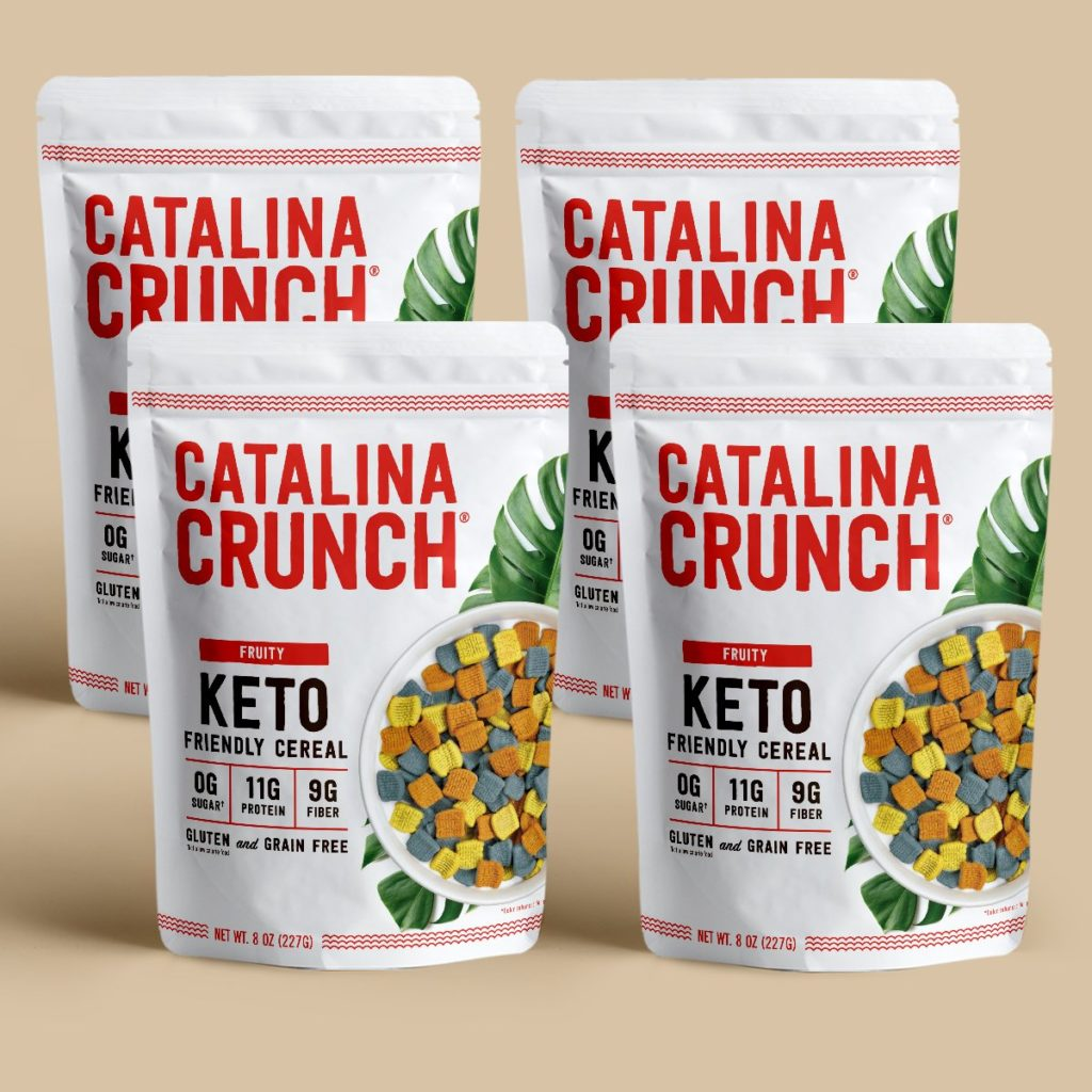 Catalina Crunch Fruity Keto Cereal Review
